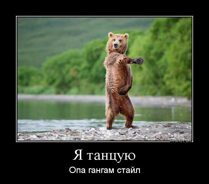 демотиватор я редко танцую довольно