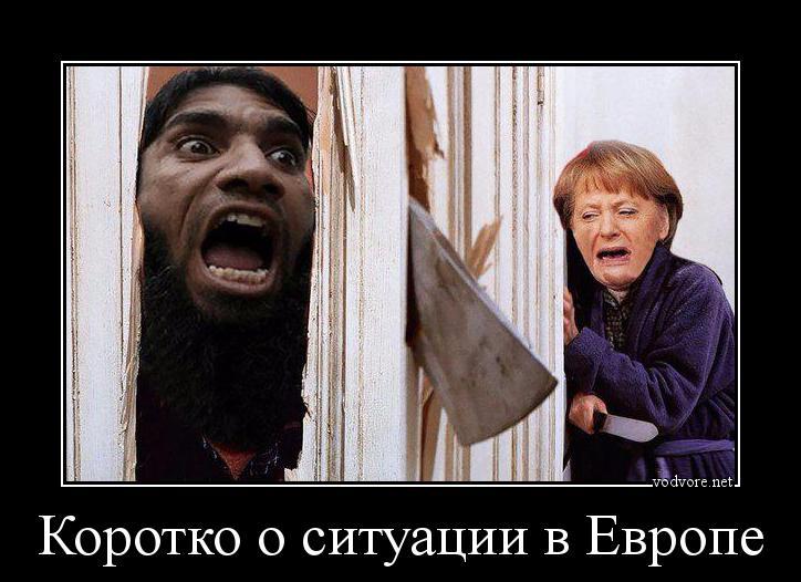 Демотиваторы мигранты в европе