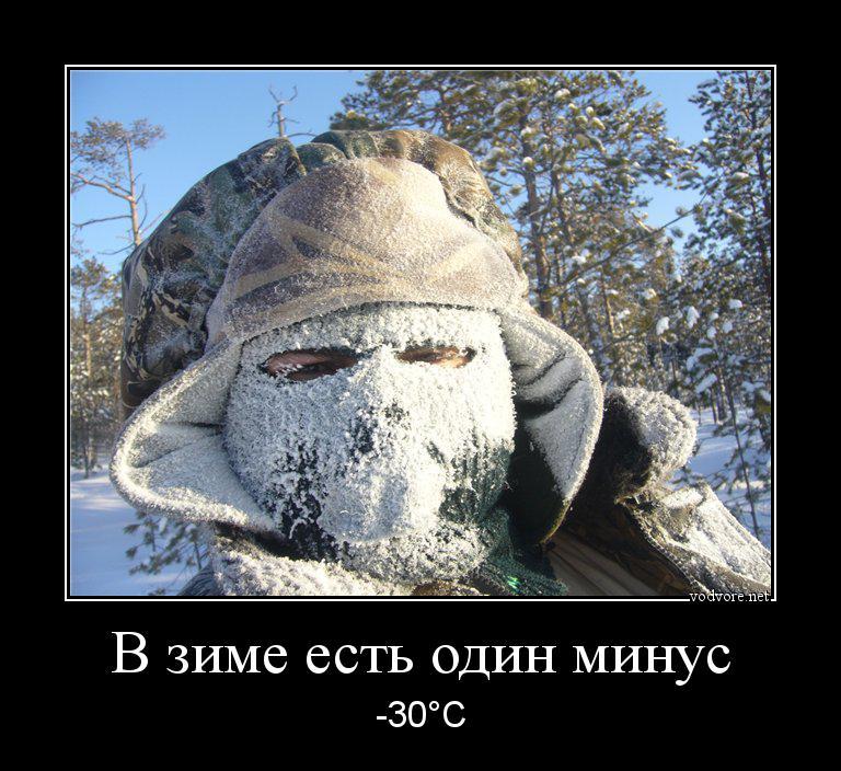 Днем, картинки мороз прикольные