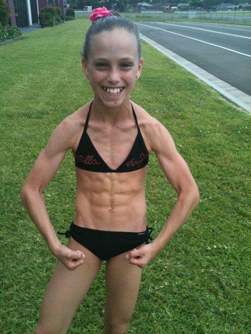 Толстые мускулистые девушки 4 фотография
