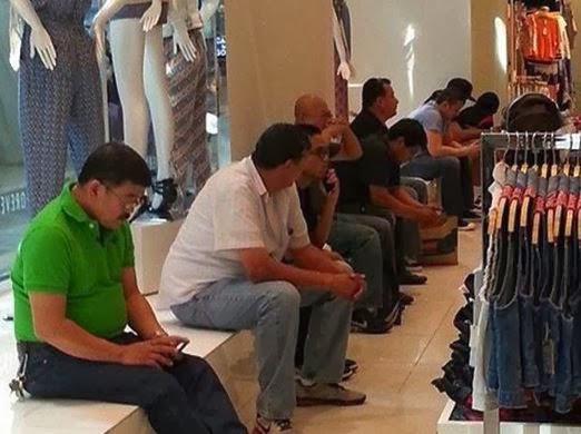 шопинг, обратная сторона