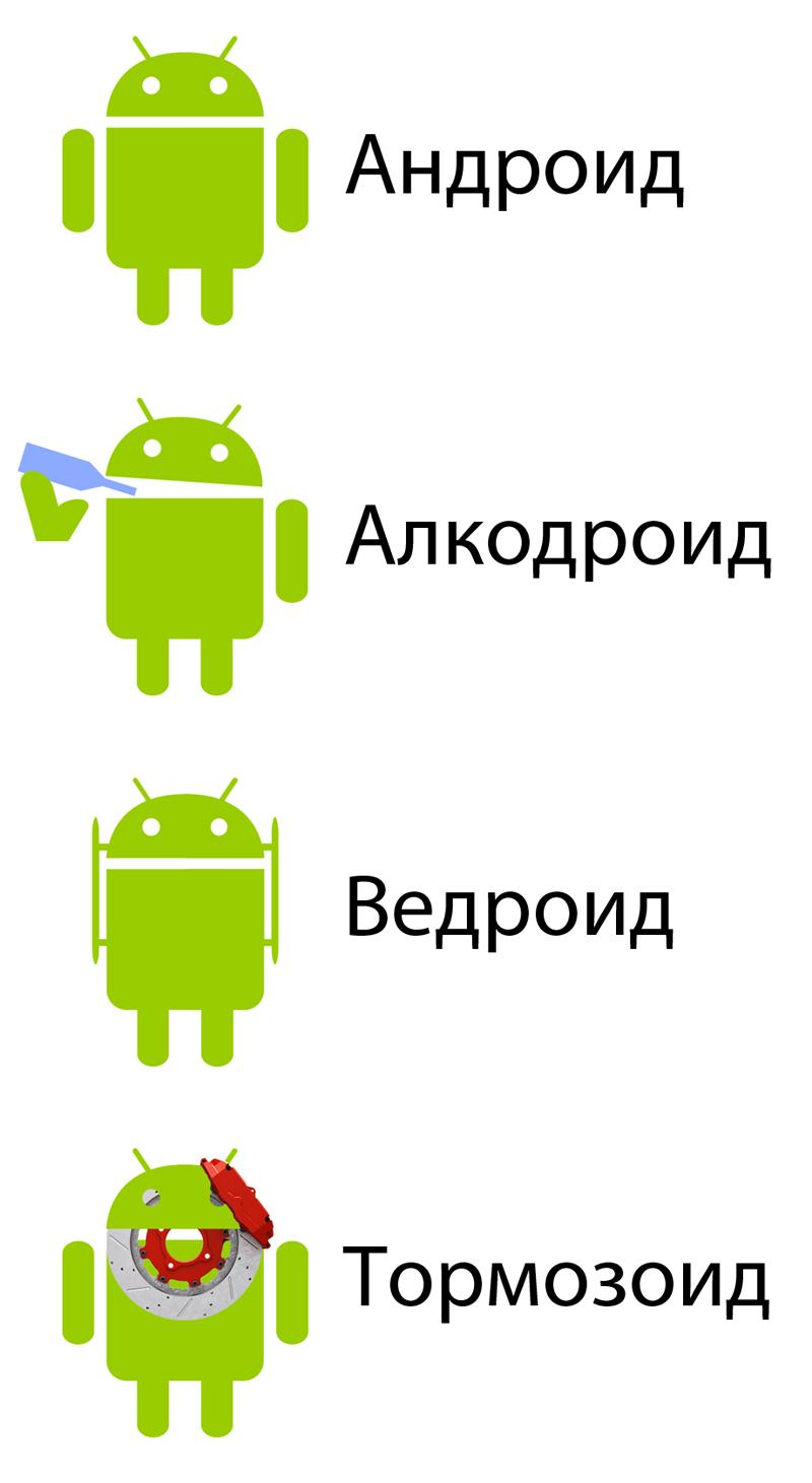Картинки андроид прикол, надписью