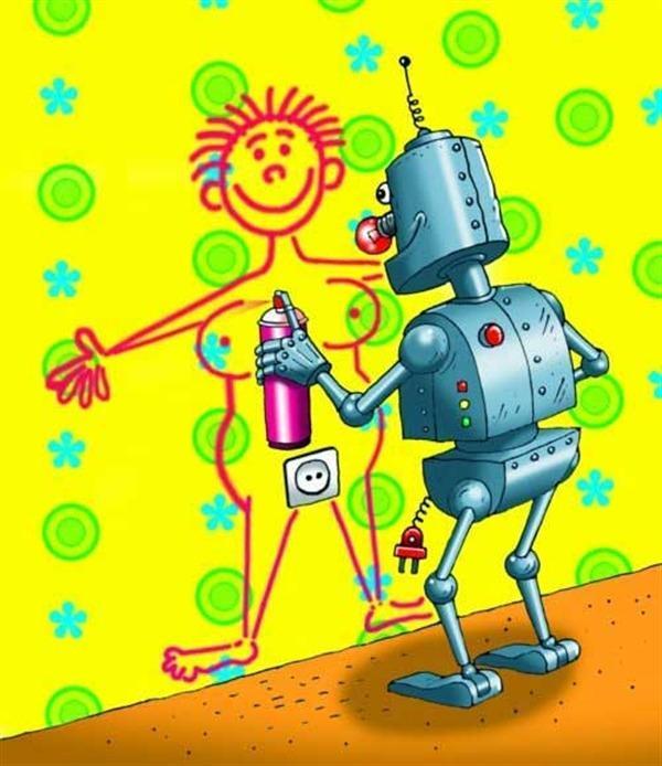 Прикольные картинки для робот
